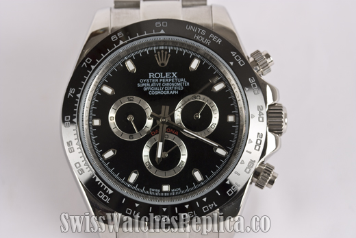 replica rolex daytona black