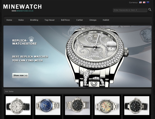 fake watches store