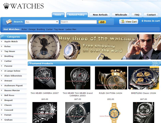 Fake Watches Sale