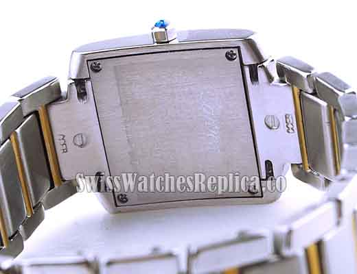 back case of the watch