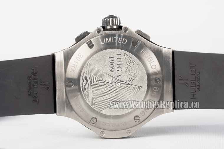 Back case cover of stainless steel hublot big bang watch