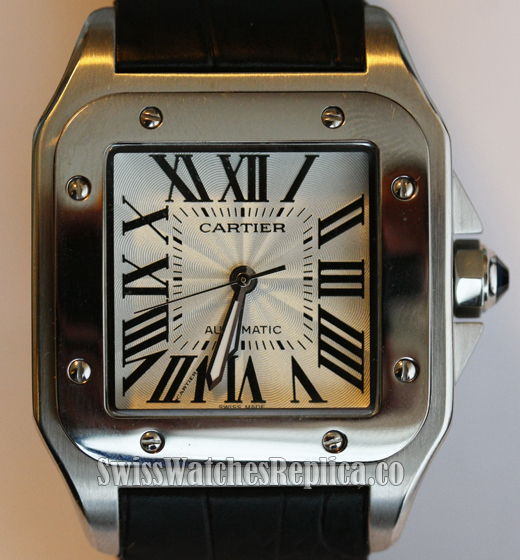 Cartier Santos 100 Replica Watch Dial