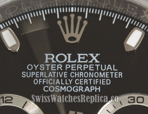 Fake Rolex Closeup 2