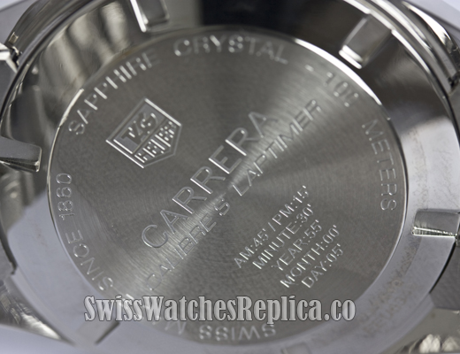 Fake Tag Heuer Calibre 16 back