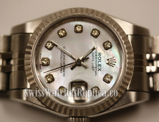 Diamond Replica Datejust Lady 5