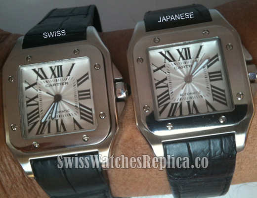 Swiss-Japanese-Cartier copy