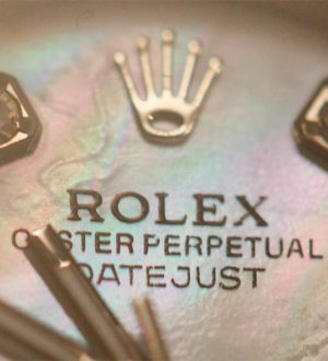 Ladies rolex watch imitation with diamond hour markings