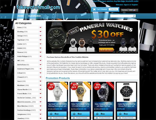 Fashion Replica Watches