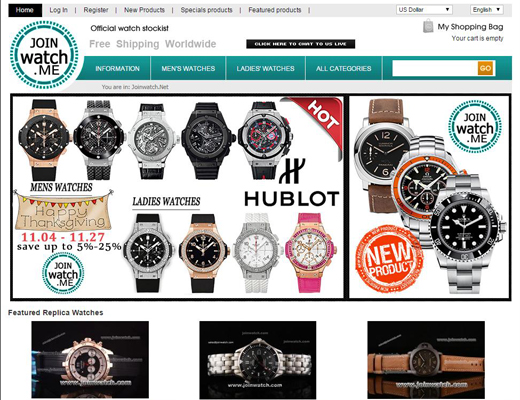Replica watches online sales