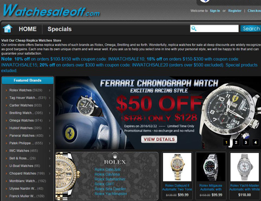 Popular Replica Watches