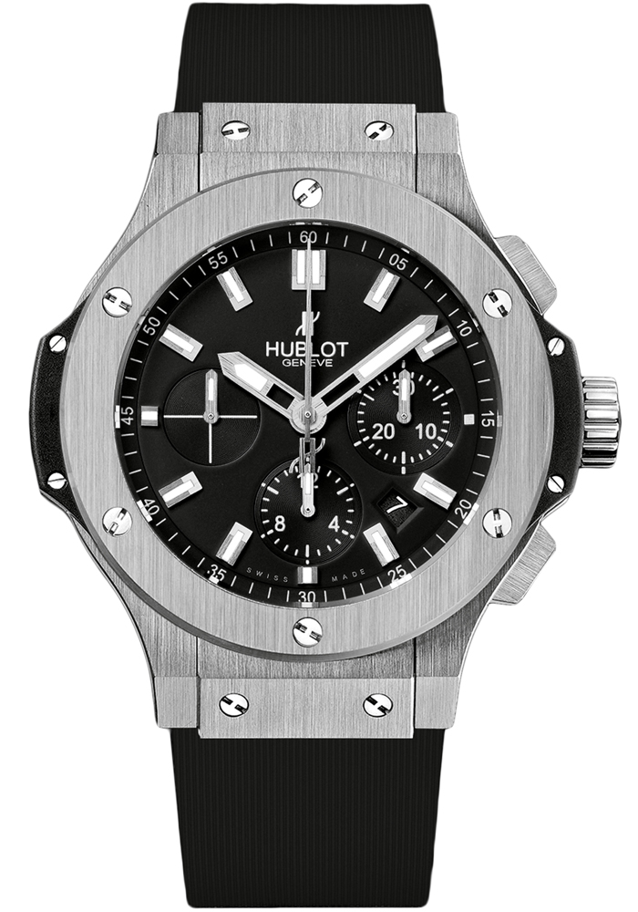 Authentic Hublot black dial watch